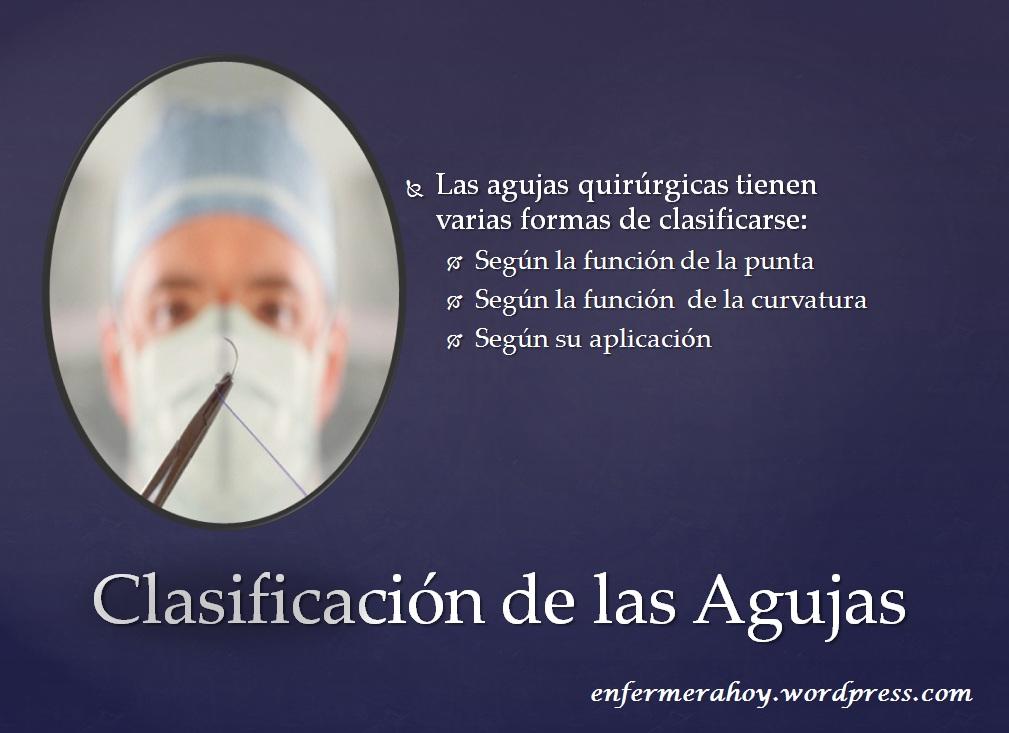 Tipos de Agujas Quir�rgicas | Enfermera Hoy